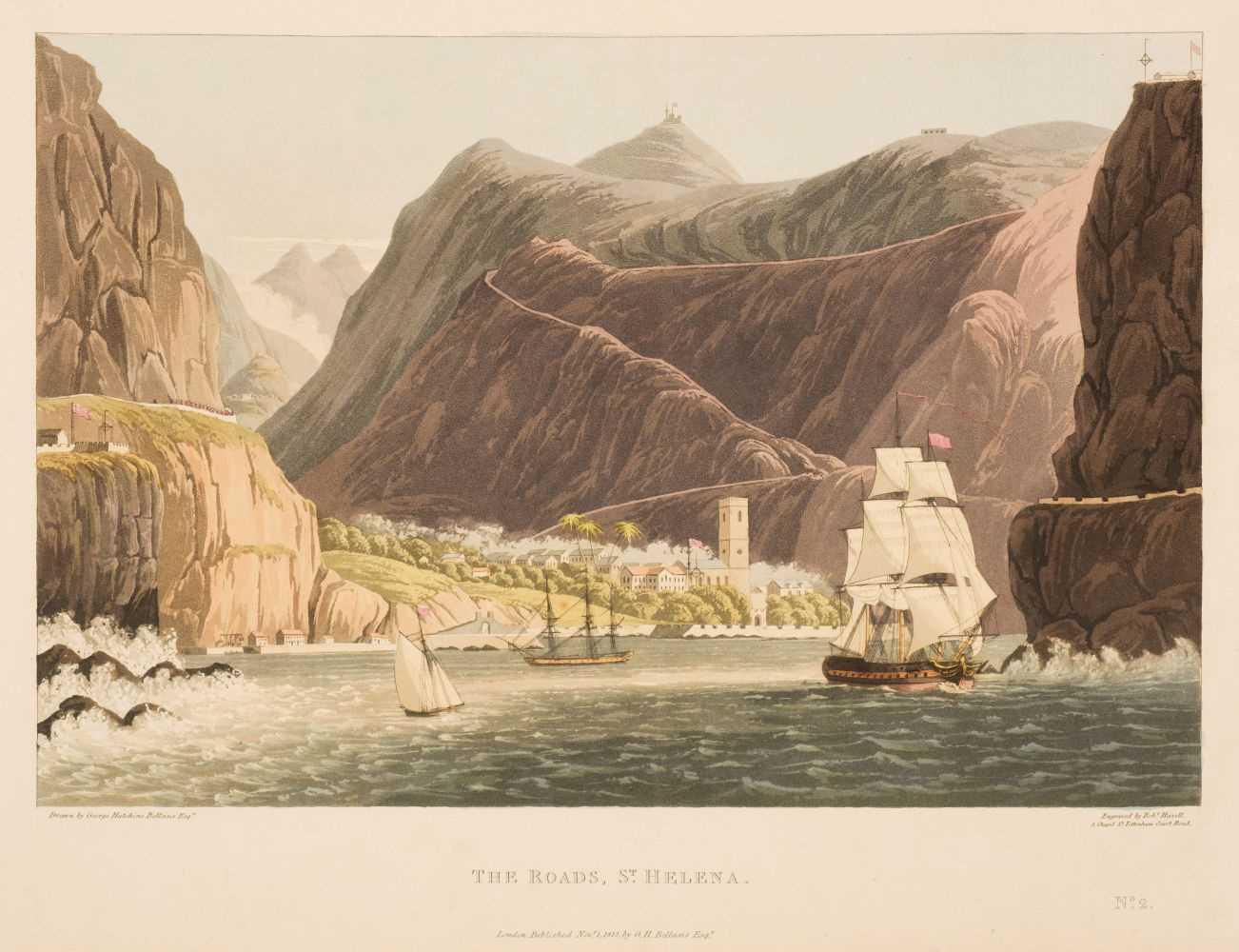 Lot 2 - Bellasis (George Hutchins). Views in Saint Helena, 1815