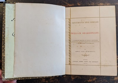 Lot 430 - Humphreys (Henry Noel). A Record of the Black Prince, 1849, and one other similar