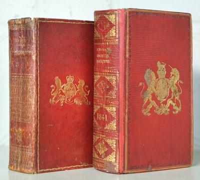 Lot 72 - Almanack. The Treble Almanack for the Year MDCCCIV, 3 parts in one, Dublin, 1804