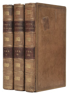 Lot 51 - Mudie (Robert). Hampshire: Its Past and Present Condition and Future prospects, 1838