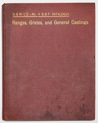 Lot 69 - Trade Catalogue. Smith & Wellstood's (Limited) Open and Close Fire Ranges, c.1880