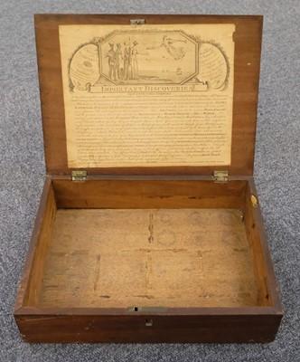 Lot 351 - Artist's box. An artist's box, circa 1810