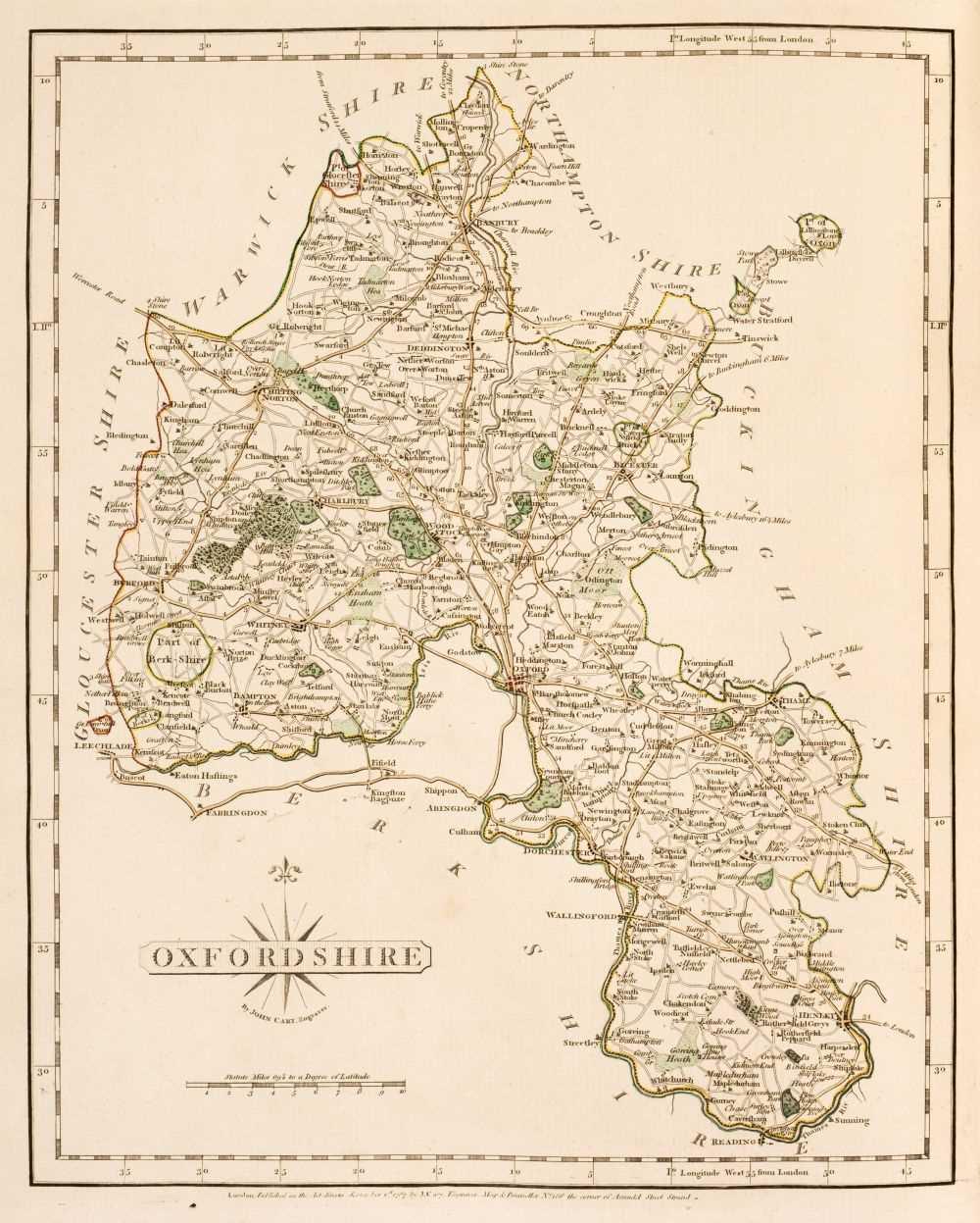 Lot 41 - Cary (John). Cary's New and Correct English Atlas.., 1st edition, 1787