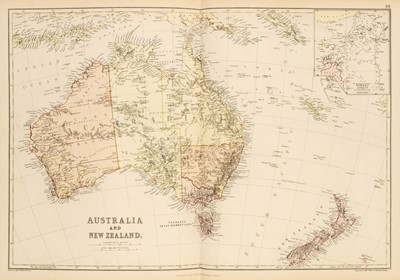 Lot 5 - Blackie & Son (publishers). The Comprehensive Atlas & Geography of the World, 1882