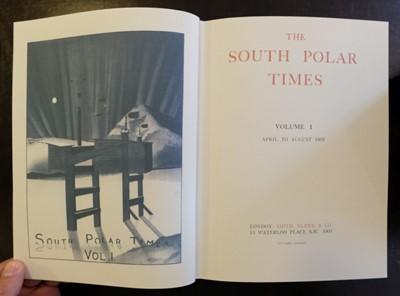 Lot 31 - South Polar Times, 3 volumes, Centenary Edition, 2002