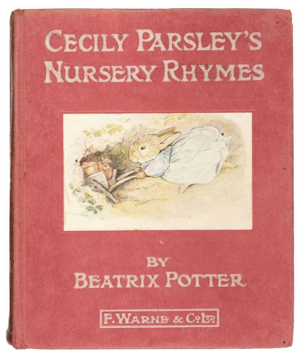 Lot 476 - Cecily Parsley's Nursery Rhymes, Beatrix Potter.