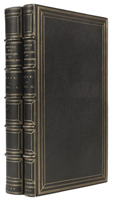 Lot 55 - Shaw (Stebbing). The History and Antiquities of Staffordshire