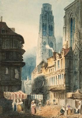Lot 375 - Mercey (Frédéric Bourgeois de, 1805-1860). Rouen Cathedral