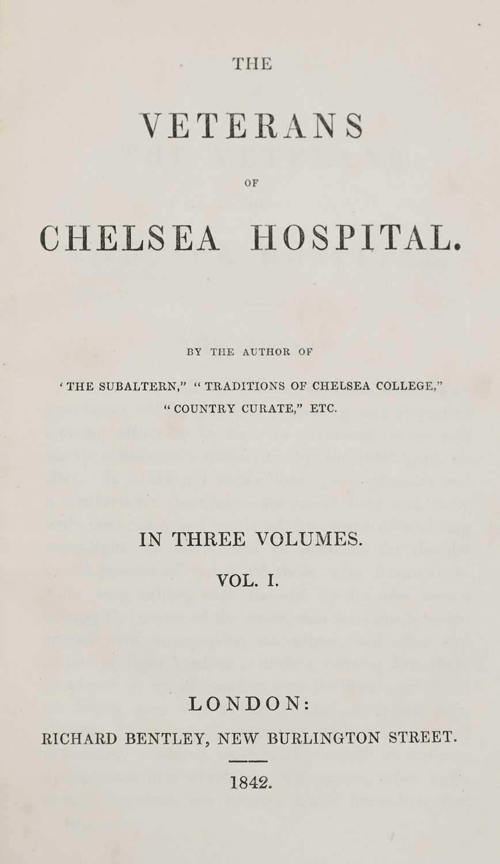 Lot 47 - Gleig (George Robert). The veterans of Chelsea Hospital, 3 volumes, London: R. Bentley, 1842