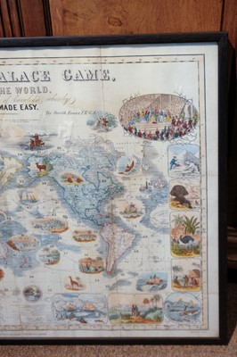 Lot 456 - World Map Board Game. The Crystal Palace Game, published by Alfred Davis & Co., [1855?]