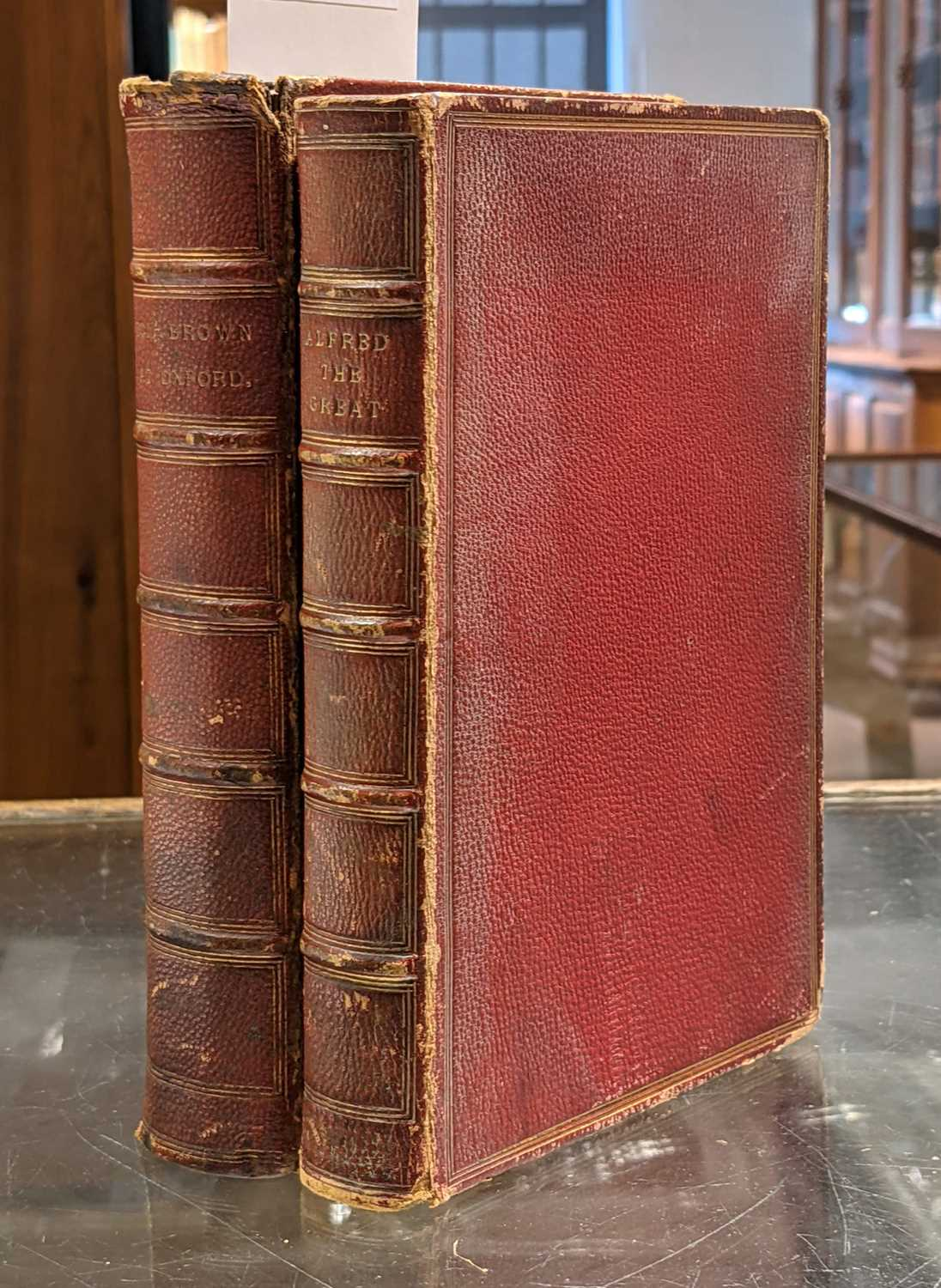 Lot 443 - Hughes (Thomas). Tom Brown at Oxford, 1871, & Alfred the Great, 1873, both signed