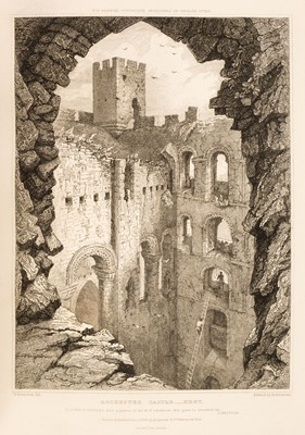 Lot 40 - Britton (John). Picturesque Antiquities of the English Cities, 1830