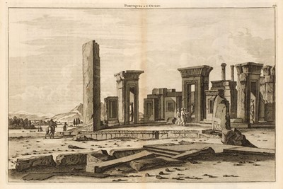 Lot 18 - Le Bruyn (Cornelius). Travels into Muscovy, Persia and part of the East-Indies, volume 2 only, 1737