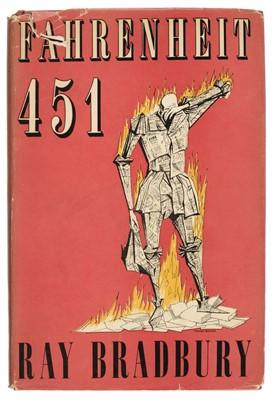 Lot 519 - Bradbury (Ray). Fahrenheit 451, 1st UK edition, 1954