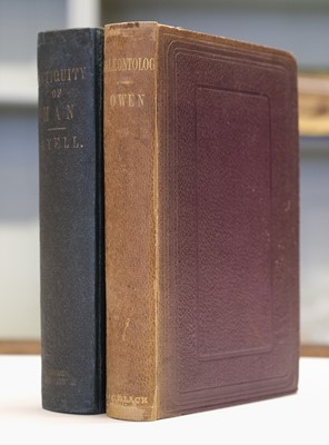 Lot 95 - Lyell (Charles). The geological evidences of the antiquity of man, 1863