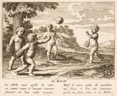 Lot 439 - Stella (Jacques). Les Jeux et Plaisris de l'Enfance, Paris, 1657