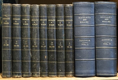 Lot 44 - Dugdale (Thomas). Curiosities of Great Britain, England & Wales Delineated, c.1840, and one other