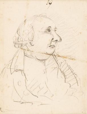 Lot 353 - Nixon (John, c.1750-1818). Portrait of a portly gentleman