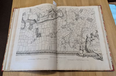 Lot 301 - London. Rocque (John), A New and Accurate Survey of the Cities of London..., 1748