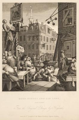 Lot 88 - Hogarth (William). Works, 2 volumes, 1833