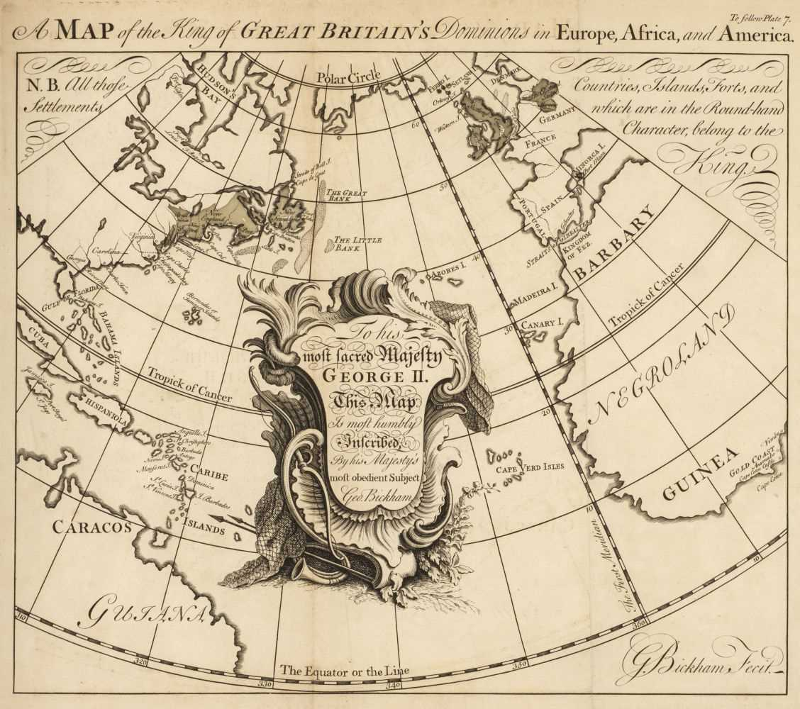 Lot 3 - Bickham (George). The British Monarchy, 1748