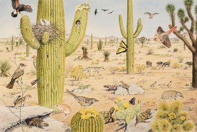 Lot 490 - Barrett (Peter, 1935). American Desert Landscape
