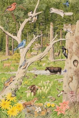 Lot 493 - Barrett (Peter, 1935). American Forest Landscape