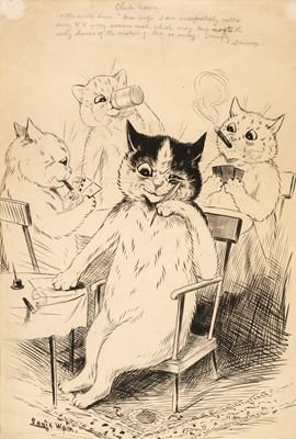 Lot 511 - Wain (Louis, 1860-1939). Club Cat