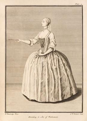 Lot 134 - Nivelon (François). Rudiments of Genteel Behaviour, 1st edition, [London?, no publisher], 1737