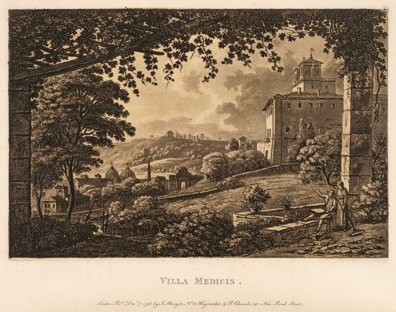 Lot 24 - Merigot (James). A Select Collection of Views and Ruins in Rome and its vicinity, circa 1815-17