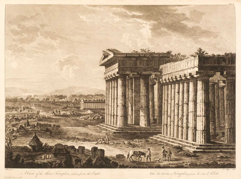 Lot 22 - Major (Thomas). The Ruins of Paestum, 1768