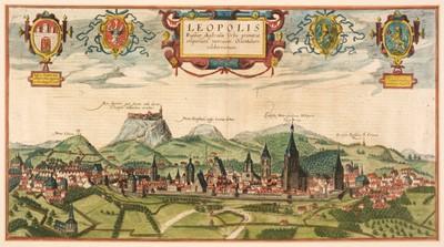 Lot 302 - Lviv/Ukraine. Braun (Georg & Hogenberg Franz), Leopolis Russuae Australis Urbs..., circa 1618