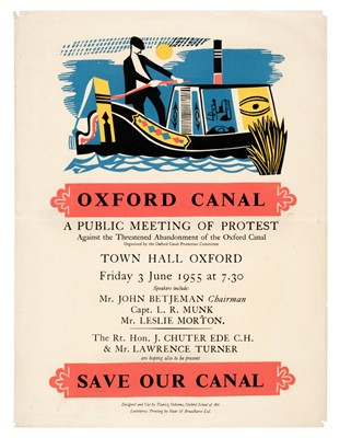 Lot 501 - Osborne (Patrick, illustrator). Oxford Canal