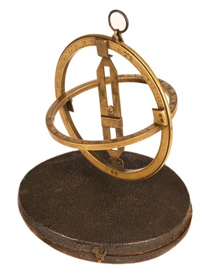 Lot 90 - Equinoctial Ring. 18th-century brass equinoctial ring dial