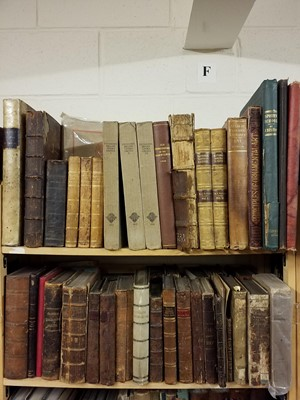 Lot 417 - Medicine & Science. A large collection of 17th to 20th-century medical & scientific reference