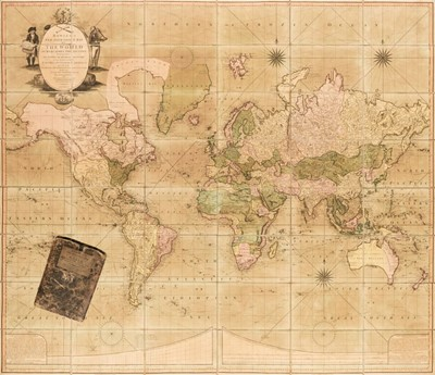 Lot 342 - World. Bowles & Carver. Bowles's New Four-Sheet Map of the World..., circa 1800