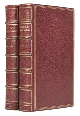 Lot 61 - Hassell (John). Picturesque Rides and Walks, 2 volumes, 1817-18