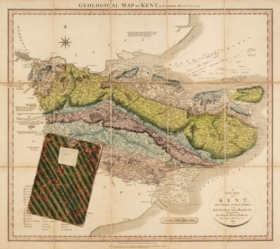 Lot 148 - Kent. Cary (John), Geological Map of Kent by W. Smith, Mineral Surveyor, 1819