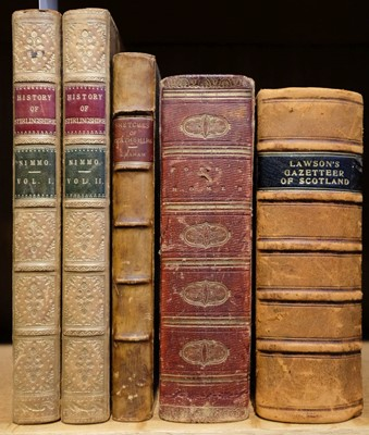 Lot 35 - Stirling (William Macgregor). History of Stirlingshire, 2 vols., 2nd ed., 1817