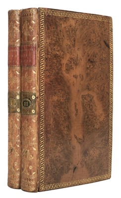 Lot 69 - Robertson (A.). A Topographical Survey of the Great Road from London to ... Bristol, 2 vols., 1792