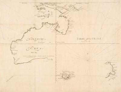 Lot 123 - Australia. Thevonot (Mechisedech), Hollandia Nova detecta 1644..., Paris, circa 1692