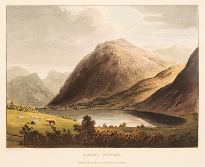 Lot 58 - Fielding (T.H. & J. Walton). A Picturesque Tour of the English Lakes, 1821