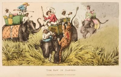 Lot 17 - D'Oyly (Charles). Tom Raw, 1828