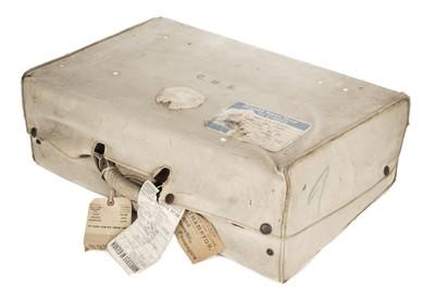 Lot 71 - Suitcase. Early 20th-century crocodile skin suitcase