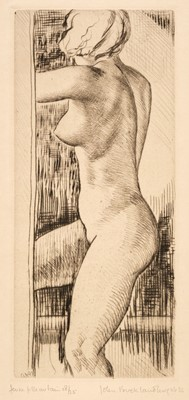 Lot 405 - Buckland Wright (John, 1897-1954). Jeune Fille au Bain, 1932