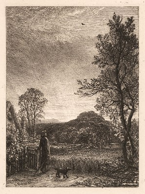 Lot 398 - Palmer (Samuel, 1805-1881). The Skylark, 1850