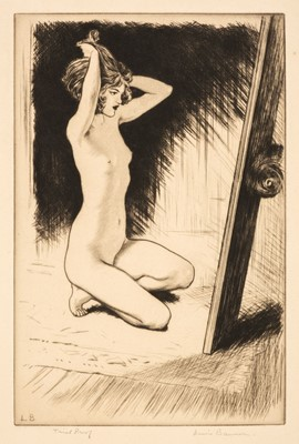Lot 402 - Baumer (Lewis, 1870-1963). Nude before a Mirror, 1920s