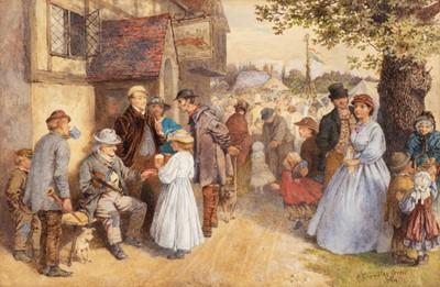 Lot 369 - Green (Henry Towneley, 1836-1899). A Village Fair, 1864