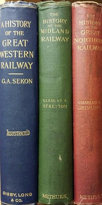 Lot 455 - Sekon (G. A.). A History of the Great Western Railway being The Story Of The Broad Gauge, 1st edition, London: Digby, Long & Co., 1895