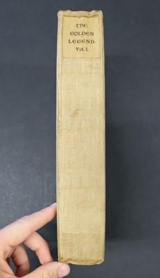 Lot 400 - Kelmscott Press. The Golden Legend, translated by William Caxton, 3 vols., 1892